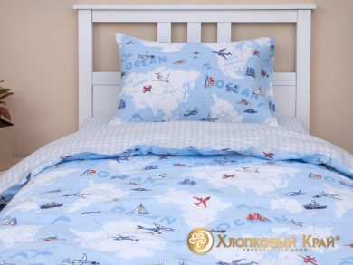 Детское постельное белье Avventura blue, фото 2