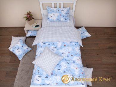 Детское постельное белье Avventura blue, фото 3