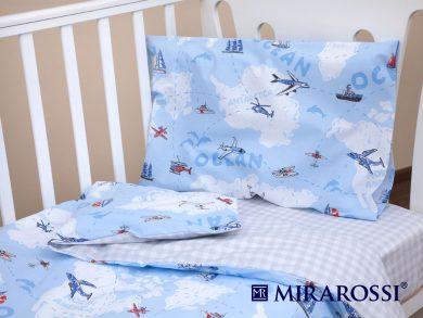 Постельное белье для новорожденных Приключения, фото 6