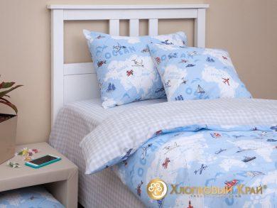 Детское постельное белье Avventura blue, фото 6