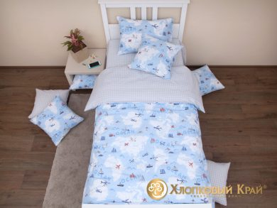Детское постельное белье Avventura blue, фото 7