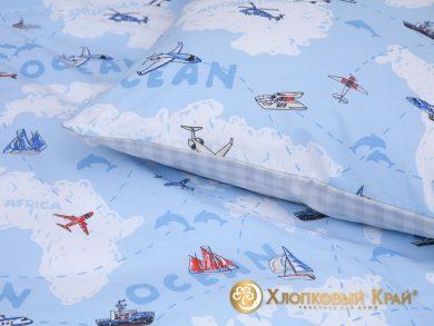 Детское постельное белье Avventura blue, фото 8