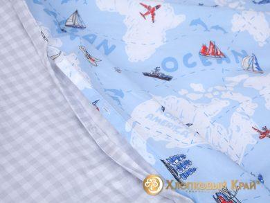 Детское постельное белье Avventura blue, фото 10