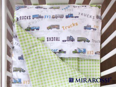 Постельное белье для новорожденных Trucks, фото 2