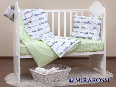 Постельное белье для новорожденных Trucks, фото 11
