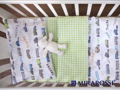 Постельное белье для новорожденных Trucks, фото 3