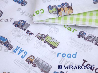 Постельное белье для новорожденных Trucks, фото 5