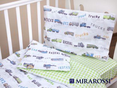 Постельное белье для новорожденных Trucks, фото 6