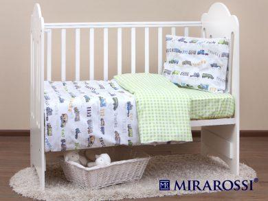 Постельное белье для новорожденных Trucks, фото 4