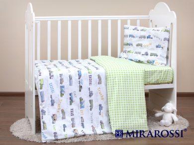 Постельное белье для новорожденных Trucks, фото 8