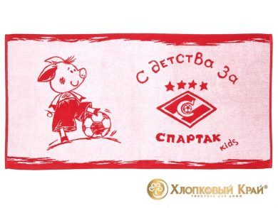 Полотенце банное 140х70 см Spartak Kids Captain, фото 2