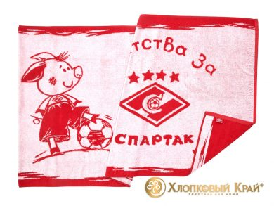 Полотенце банное 140х70 см Spartak Kids Captain, фото 4