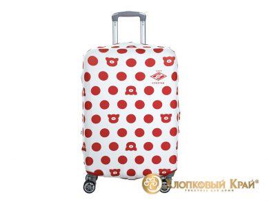 Чехол на чемодан Спартак white case, фото 2