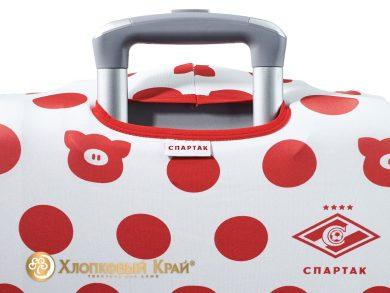 Чехол на чемодан Спартак white case, фото 7