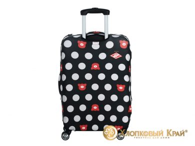Чехол на чемодан Спартак black case, фото 5