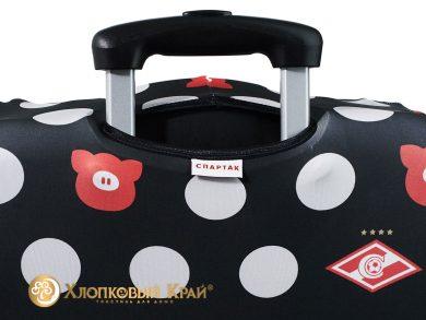 Чехол на чемодан Спартак black case, фото 7