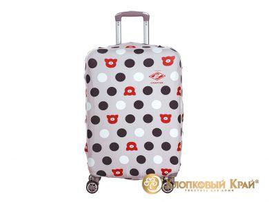 Чехол на чемодан Спартак grey case, фото 2