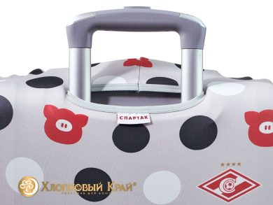 Чехол на чемодан Спартак grey case, фото 7