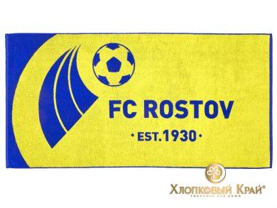 Полотенце банное 140х70 см FC Rostov, фото 2