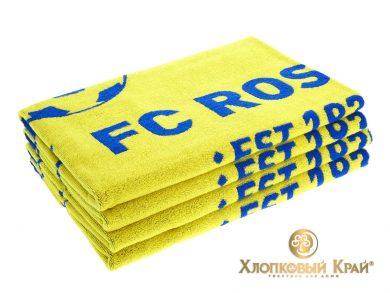 Полотенце банное 140х70 см FC Rostov, фото 3