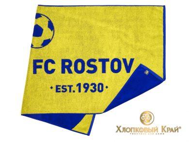 Полотенце банное 140х70 см FC Rostov, фото 4