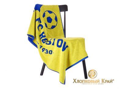 Полотенце банное 140х70 см FC Rostov, фото 6