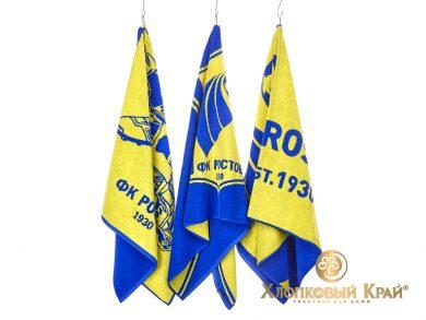 Полотенце банное 140х70 см FC Rostov, фото 7