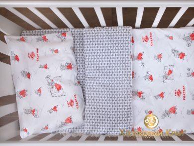 Постельное белье для новорожденных Спартак Dream Team, фото 7