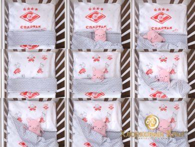 Постельное белье для новорожденных Спартак Kids, фото 15