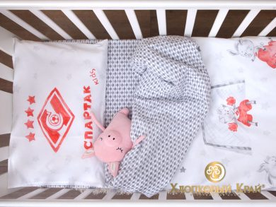 Постельное белье для новорожденных Спартак Kids, фото 10