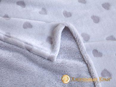Плед велсофт Cердца, фото 2