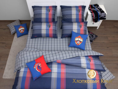 Постельное белье PFC CSKA champ, фото 2