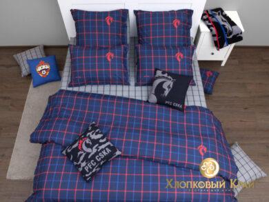 Постельное белье PFC CSKA RB army, фото 5