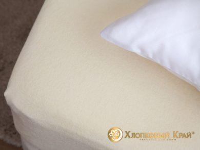 натяжная простыня на резинке Молоко, фото 2
