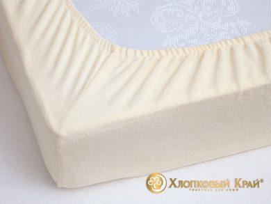 натяжная простыня на резинке Молоко, фото 3