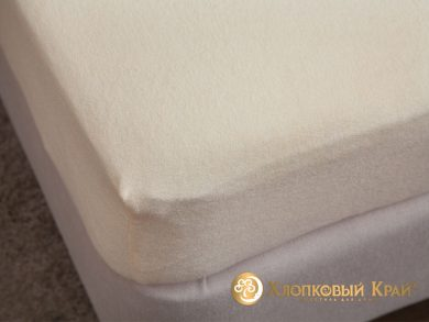 натяжная простыня на резинке Молоко, фото 6