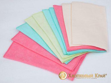 Салфетки для уборки двухслойные 25*25 см (упаковка 10 шт), фото 2