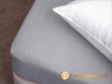 натяжная простыня на резинке Грей, фото 2
