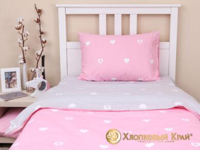 Детское постельное белье Сердца, фото 5