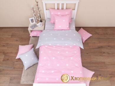 Детское постельное белье Сердца, фото 3