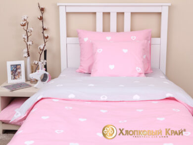Детское постельное белье Сердца, фото 9