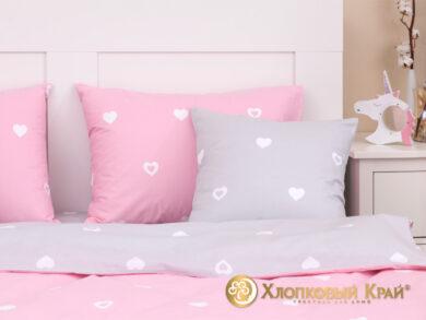Детское постельное белье Сердца, фото 8