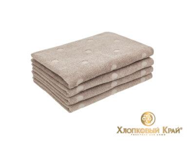 полотенце для лица 50х100 см Бон Пари кофе, фото 2