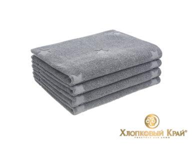 полотенце для лица 50х100 см Монамур графит, фото 2