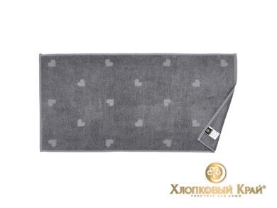 полотенце для лица 50х100 см Амор графит, фото 3
