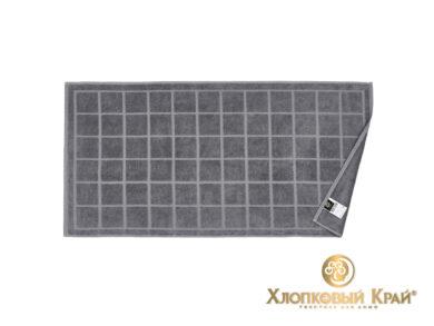 полотенце для лица 50х100 см Клетка графит, фото 3