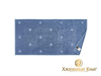 полотенце для лица 50х100 см Монамур деним, фото 3
