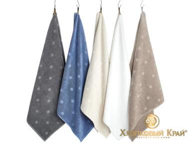 полотенце для лица 50х100 см Бон Пари деним, фото 4