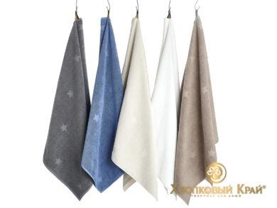 полотенце для лица 50х100 см Монамур деним, фото 4
