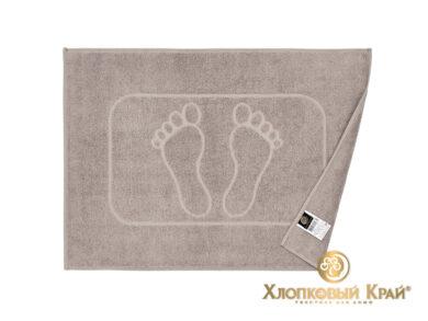 полотенце-коврик для ног 50х70 см кофе, фото 2